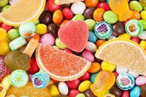 Hintergrundbilder Süßigkeiten Bonbon Viel Großansicht Marmelade candies jelly Lebensmittel