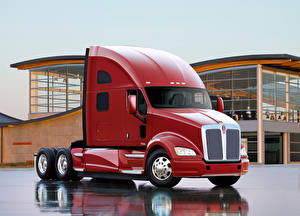Image Kenworth Lorry Red 2010-16 T700 automobile