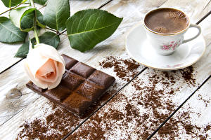 Photo Still-life Coffee Chocolate Roses Cup Cocoa solids Food Flowers