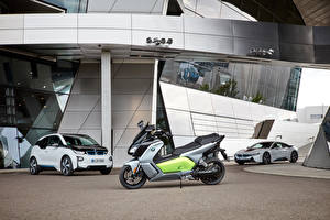 Wallpapers BMW automobile Motorcycles