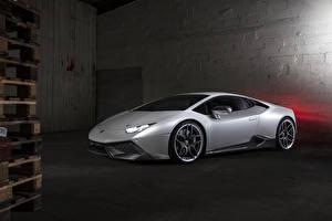 Hintergrundbilder Lamborghini Silber Farbe LB724 Novitec Torado LP 610-4