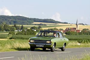 Desktop hintergrundbilder Opel Antik Limousine 1967-71 Rekord Sedan (C) auto