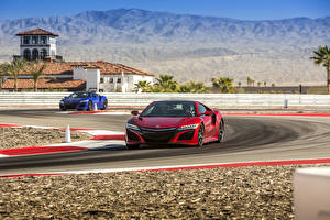 Images Acura Two 2017 NSX Cars
