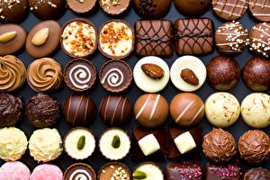 Bilder Bonbon Süßigkeiten Viel Lebensmittel