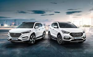 Images Hyundai Two White Metallic auto