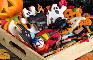 Images Holidays Halloween Cookies Design Food