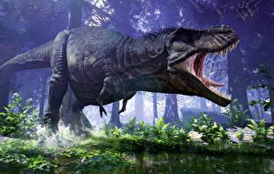 Fonds d'écran Dinosaure 3D_Graphiques