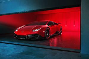 Bilder Lamborghini Rot Luxus  Autos