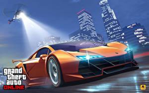Hintergrundbilder GTA Hubschrauber Lamborghini Online Sesto Elemento Spiele Autos