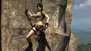 Fotos Tomb Raider Tomb Raider Legend Lara Croft Mädchens