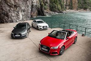 Wallpapers Audi Three 3 Convertible Metallic 2012-16 A3 (8V) auto