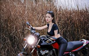 Pictures Asian Girls Motorcycles
