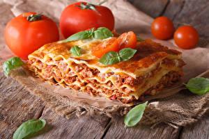 Hintergrundbilder Die zweite Gerichten Tomate Lasagne Blatt