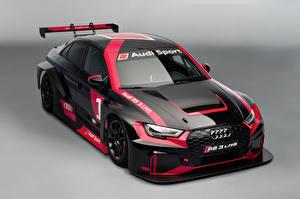Pictures Audi Tuning Black Metallic 2016 RS 3 LMS automobile