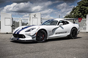Picture Dodge Tuning White 2016 Viper ACR by GeigerCars Cars