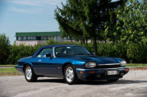 Fotos Jaguar Antik Blau 1991-96 XJS Convertible automobil