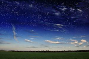Bilder Acker Himmel Stern Wolke