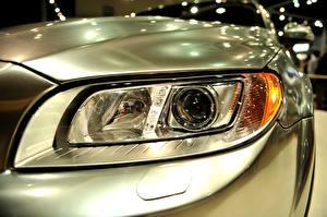 Fotos Hautnah Auto Scheinwerfer Autos
