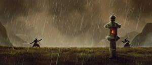 Pictures Rain Samurai 2 Fantasy