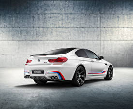 Images BMW Back view White 2015 F13 Coupe Cars