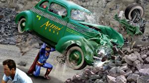 Bakgrunnsbilder Supermann helten Superhelter En mann