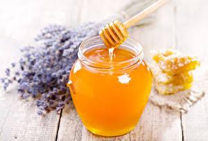 Photo Honey Jar Food