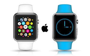 Pictures Apple Clock Watch White background Apple Watch