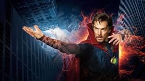 Fotos Mann Doctor Strange 2016 Benedict Cumberbatch Magier Hexer Film Prominente