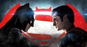 Photo Superman hero Batman hero Masks Batman v Superman: Dawn of Justice Men Henry Cavill Ben Affleck 2 Henry cavill Celebrities