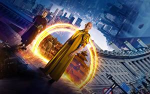 Fotos Doctor Strange 2016 Magier Hexer Tilda Swinton Film Fantasy Prominente