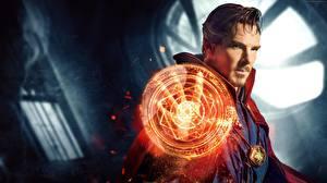 Bilder Doctor Strange 2016 Magier Hexer Benedict Cumberbatch Mann Film Fantasy Prominente