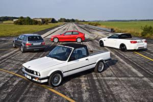 Wallpaper BMW Many Roads 1986 -2016 M3 auto