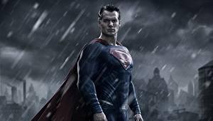 Bakgrunnsbilder Batman v Superman: Dawn of Justice Supermann helten Regn En mann Henry Cavill Film Kjendiser