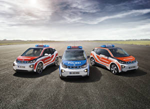 Pictures BMW Tuning Three 3 Police Asphalt i3 automobile