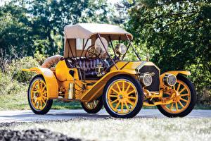 Fotos Antik Gelb Metallisch Roadster 1910 Pullman Model O Roadster