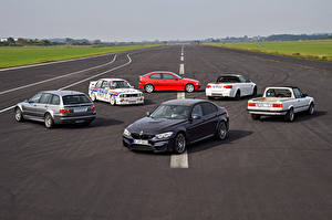 Pictures BMW Many Roads 1986 -2016 M3 Cars