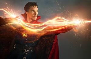 Hintergrundbilder Doctor Strange 2016 Benedict Cumberbatch Magier Hexer Mann Film