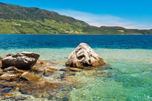 Pictures Chile Sea Stone Mountain Conguillio National Park Nature