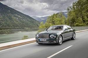 Picture Bentley Metallic Luxurious Motion 2016 Mulsanne Speed auto
