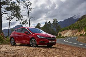 Hintergrundbilder Opel Rot 2016 Astra ZA-spec automobil