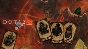 Wallpaper DOTA 2 Warriors Doom Dota 2 Demon Invoker Sorcery Luna Phantom assassin mortred vdeo game Fantasy