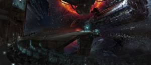 Wallpaper Technics Fantasy Ships Ender's Game Movies Space