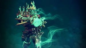 Image DOTA 2 Wraith King Warriors Magic Undead Armor vdeo game Fantasy