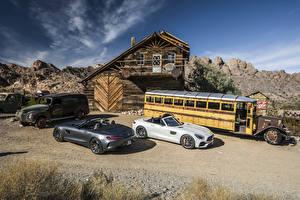 Image Mercedes-Benz 2 Cabriolet Roadster 2016 AMG GT Roadster Cars
