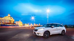 Wallpapers Honda White Metallic 2016 Avancier Cars