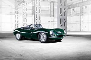 Hintergrundbilder Jaguar Grün Metallisch Cabriolet 2016 XKSS Continuation Autos
