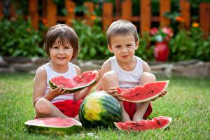 Photo Watermelons Boys Two Piece Children