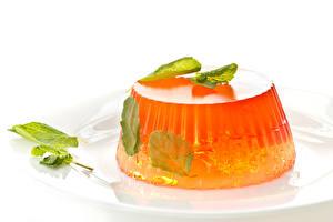 Hintergrundbilder Süßware Gelee Blatt Weißer hintergrund das Essen