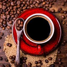 Fotos Kaffee Tasse Getreide Löffel Untertasse Lebensmittel
