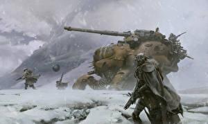 Bilder Technik Fantasy Krieger Destiny (Spiele) Kanone Schnee Fallen Spiele Fantasy